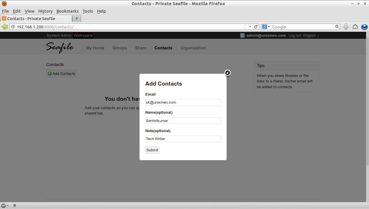 Contacts - Private Seafile - Mozilla Firefox_014