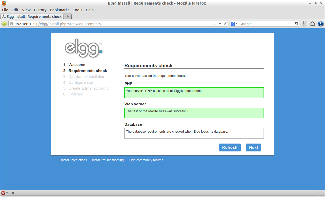 Elgg Install : Requirements check - Mozilla Firefox_003