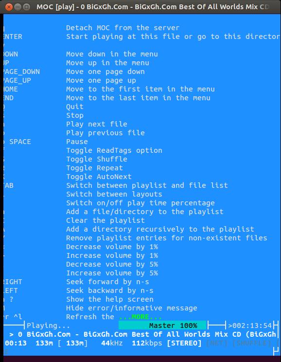 MOC-player-commands