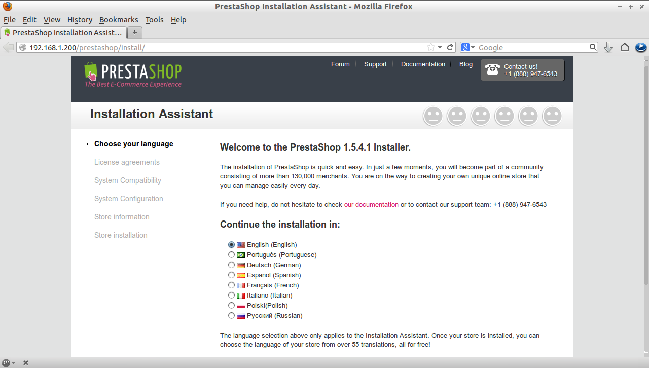 PrestaShop Installation Assistant - Mozilla Firefox_001