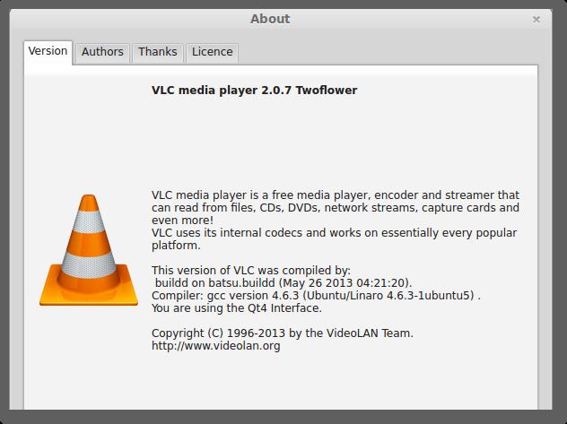 VLC media player_2.0.7