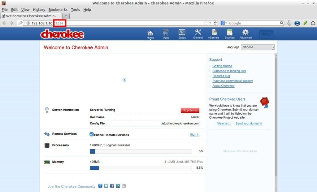 Welcome to Cherokee Admin - Cherokee Admin - Mozilla Firefox_004