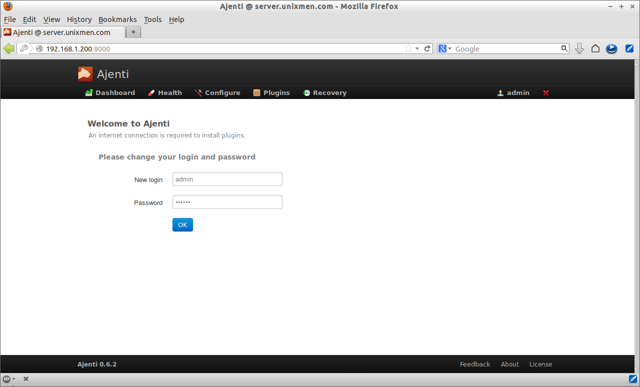 Ajenti @ server.unixmen.com - Mozilla Firefox_002