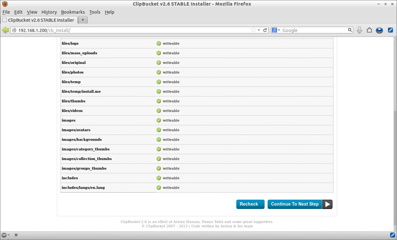 ClipBucket v2.6 STABLE Installer - Mozilla Firefox_003