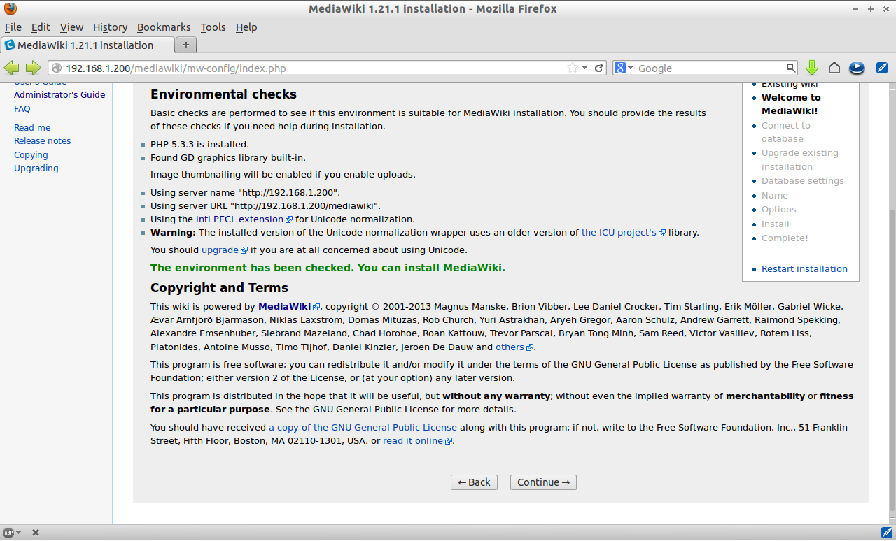 MediaWiki 1.21.1 installation - Mozilla Firefox_004