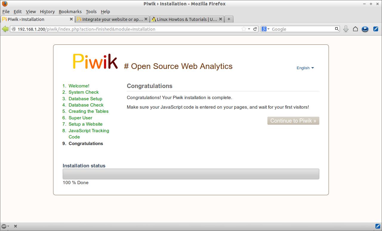 Piwik › Installation - Mozilla Firefox_009