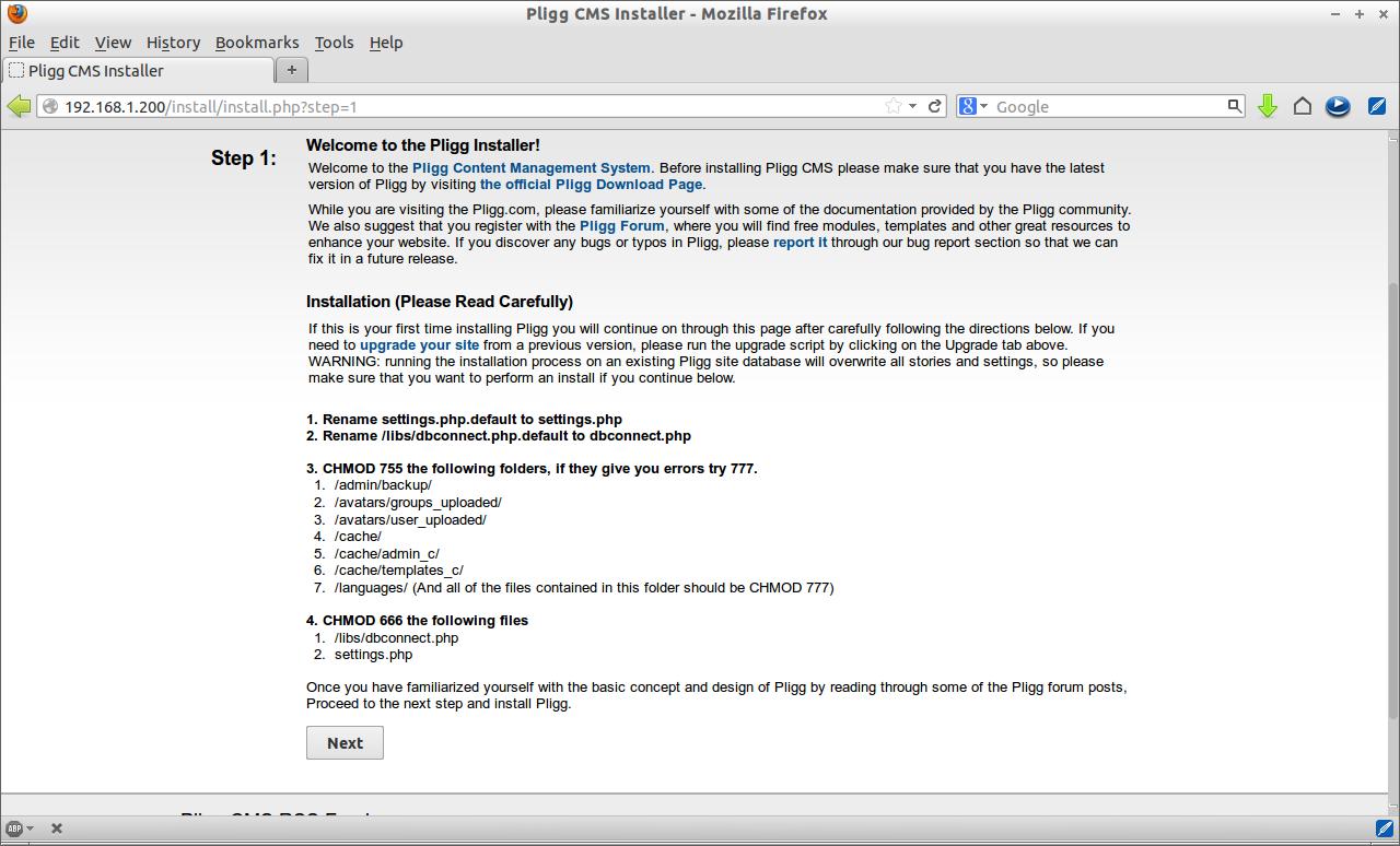 Pligg CMS Installer - Mozilla Firefox_003