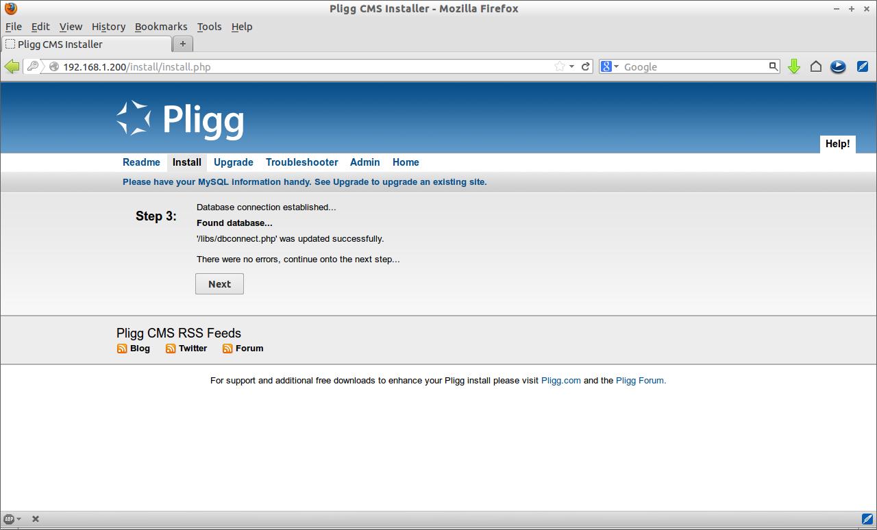 Pligg CMS Installer - Mozilla Firefox_005