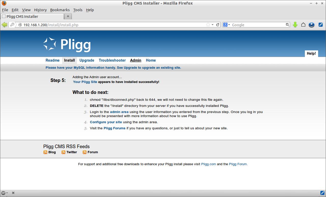 Pligg CMS Installer - Mozilla Firefox_007
