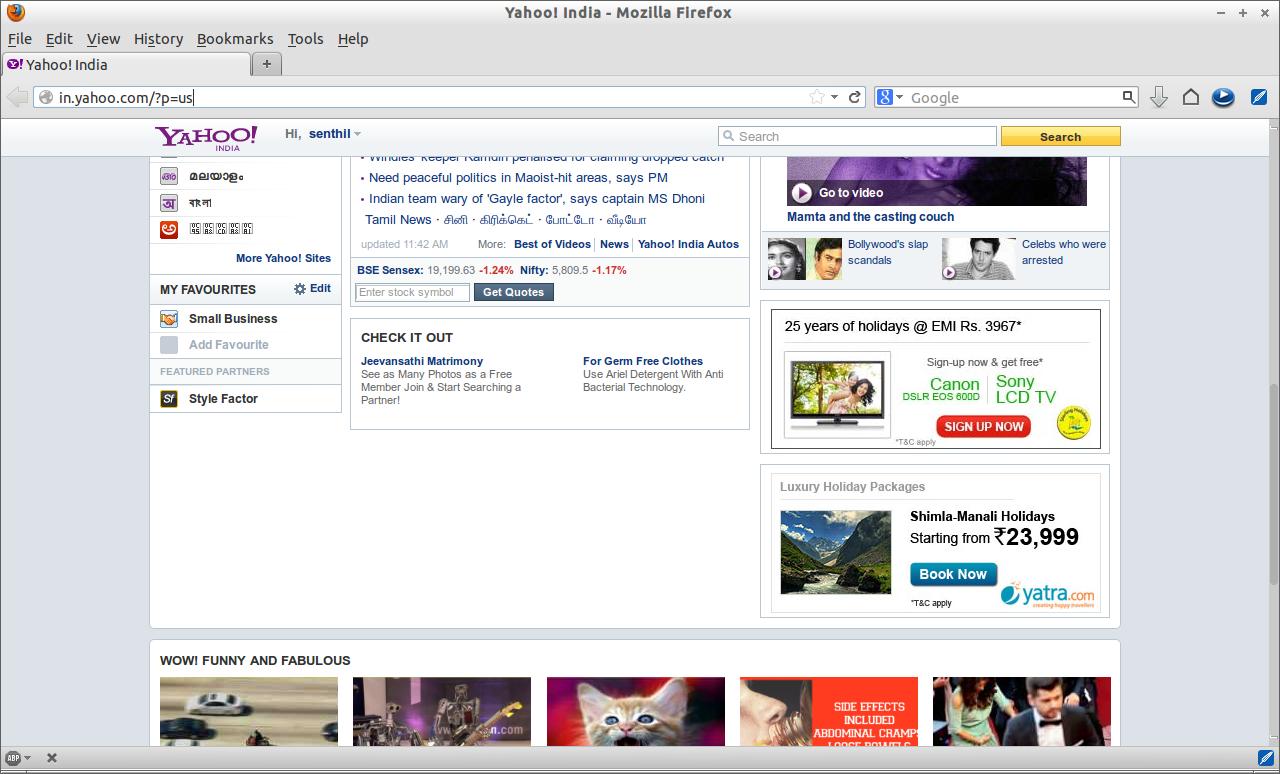 Yahoo! India - Mozilla Firefox_005