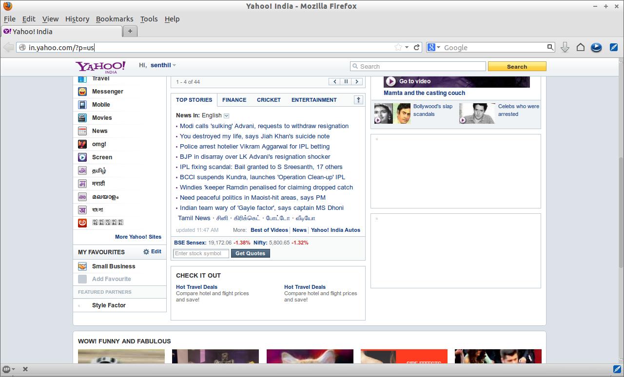 Yahoo! India - Mozilla Firefox_006