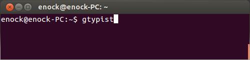 run-gtypist