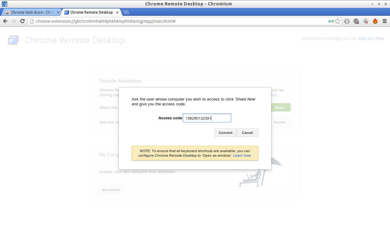 Chrome Remote Desktop - Chromium_014