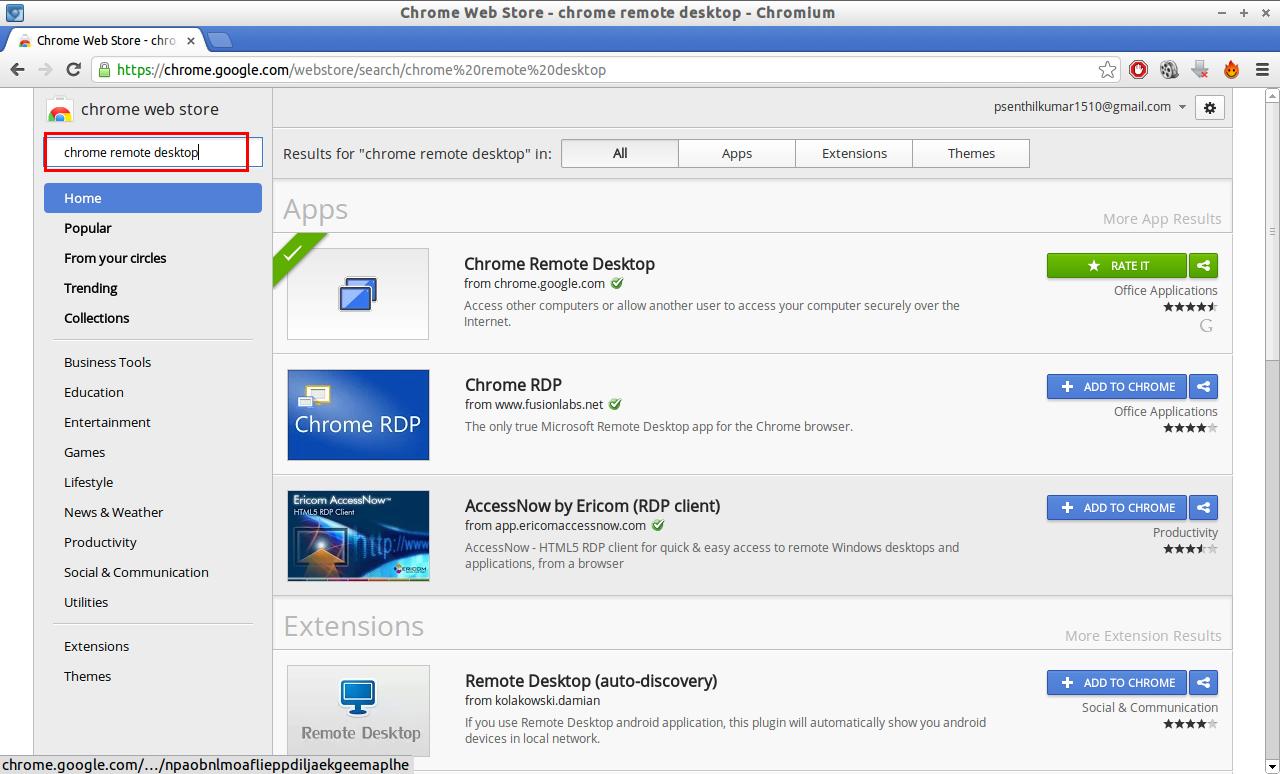 Chrome Web Store - chrome remote desktop - Chromium_016