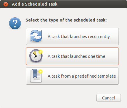 Gnome-schedule-tasks