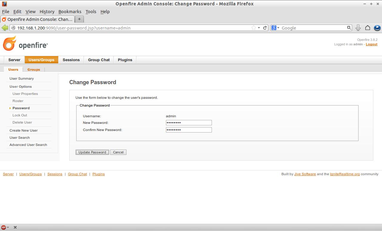 Openfire Admin Console: Change Password - Mozilla Firefox_018