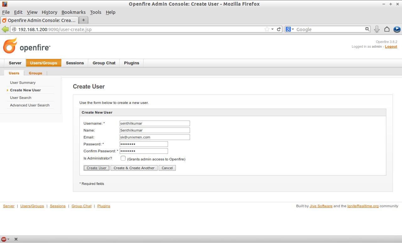 Openfire Admin Console: Create User - Mozilla Firefox_019
