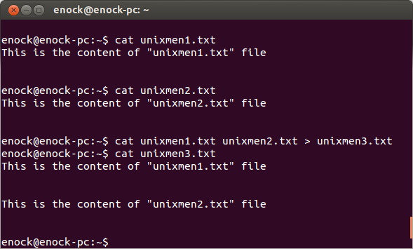 concatenate_unixmen3