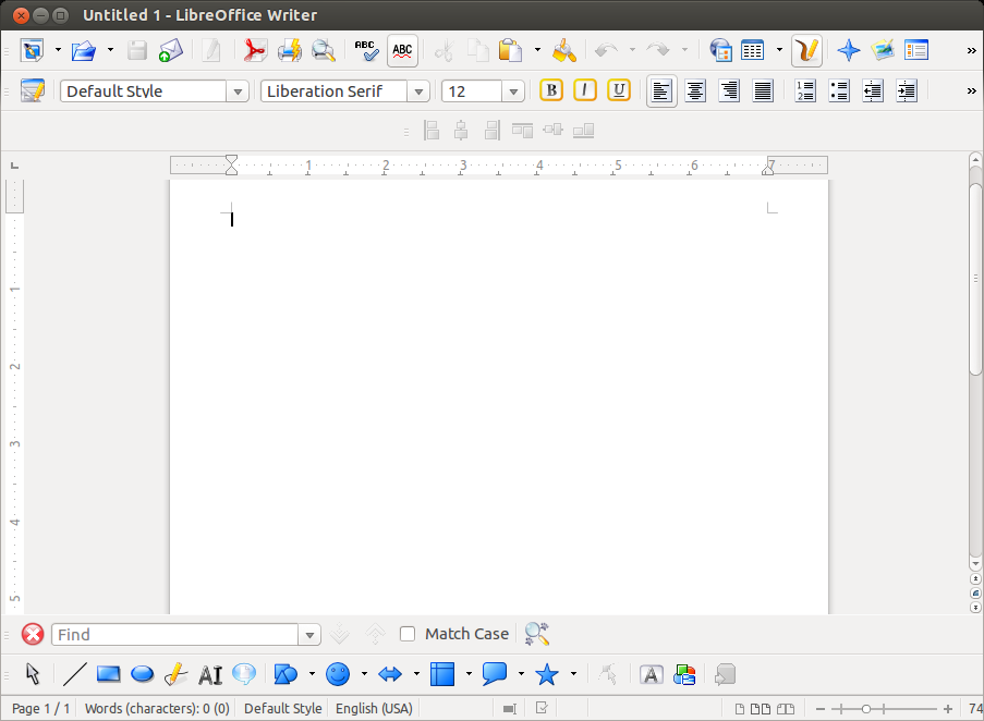 libreoffice-4.1-writer-unixmen