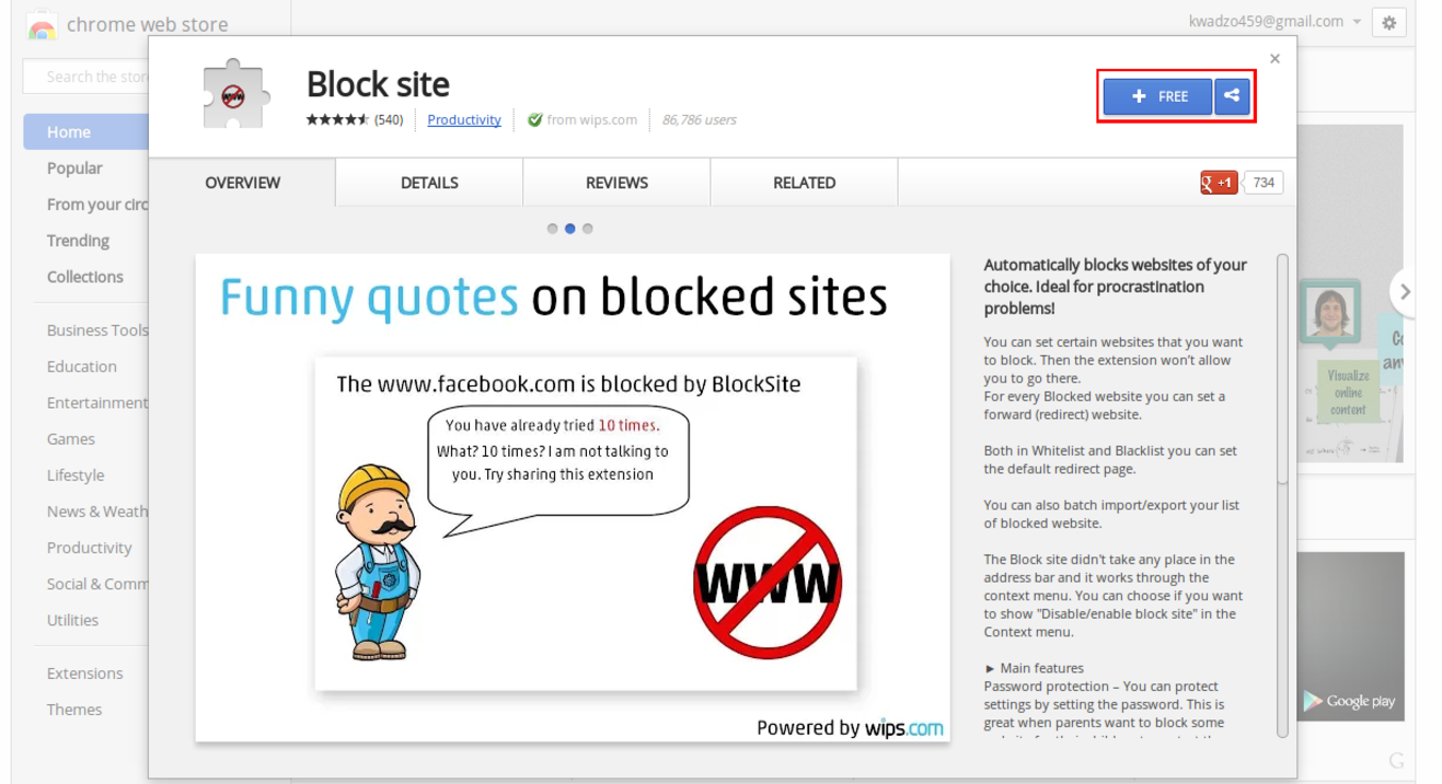 blocksite_chrome