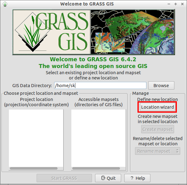 Welcome to GRASS GIS_003