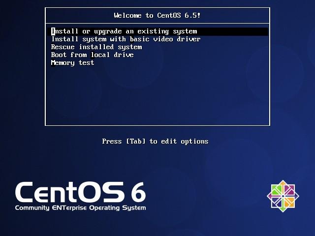 CentOS 6.5 [Running] - Oracle VM VirtualBox_001