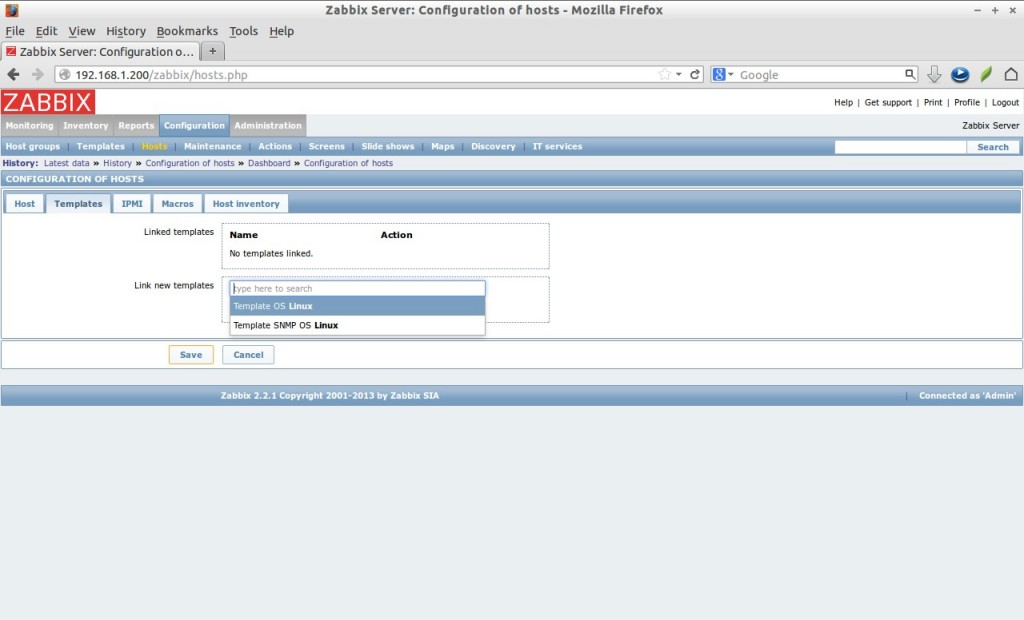 Zabbix Server: Configuration of hosts - Mozilla Firefox_034