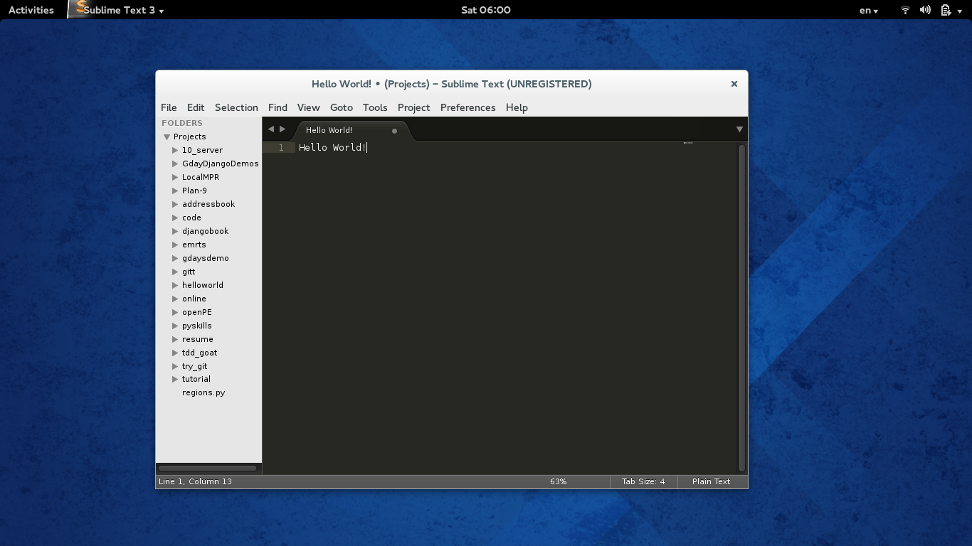 Sublime_Text_Fedora_Full_Screen