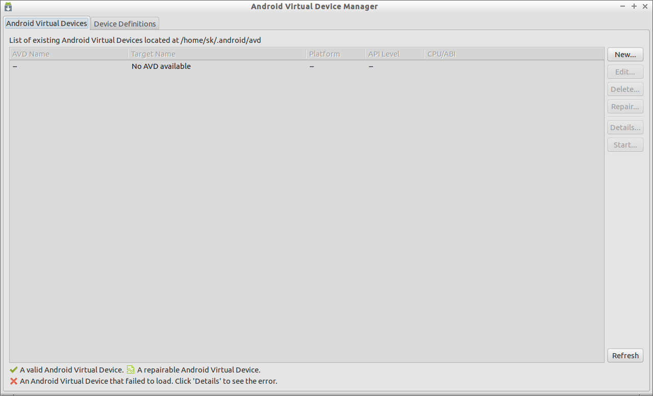Android Virtual Device Manager _014