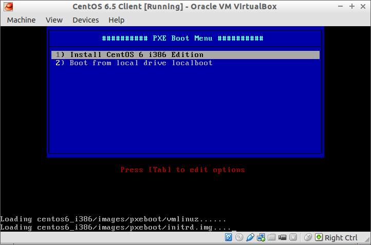 CentOS 6.5 Client [Running] - Oracle VM VirtualBox_012