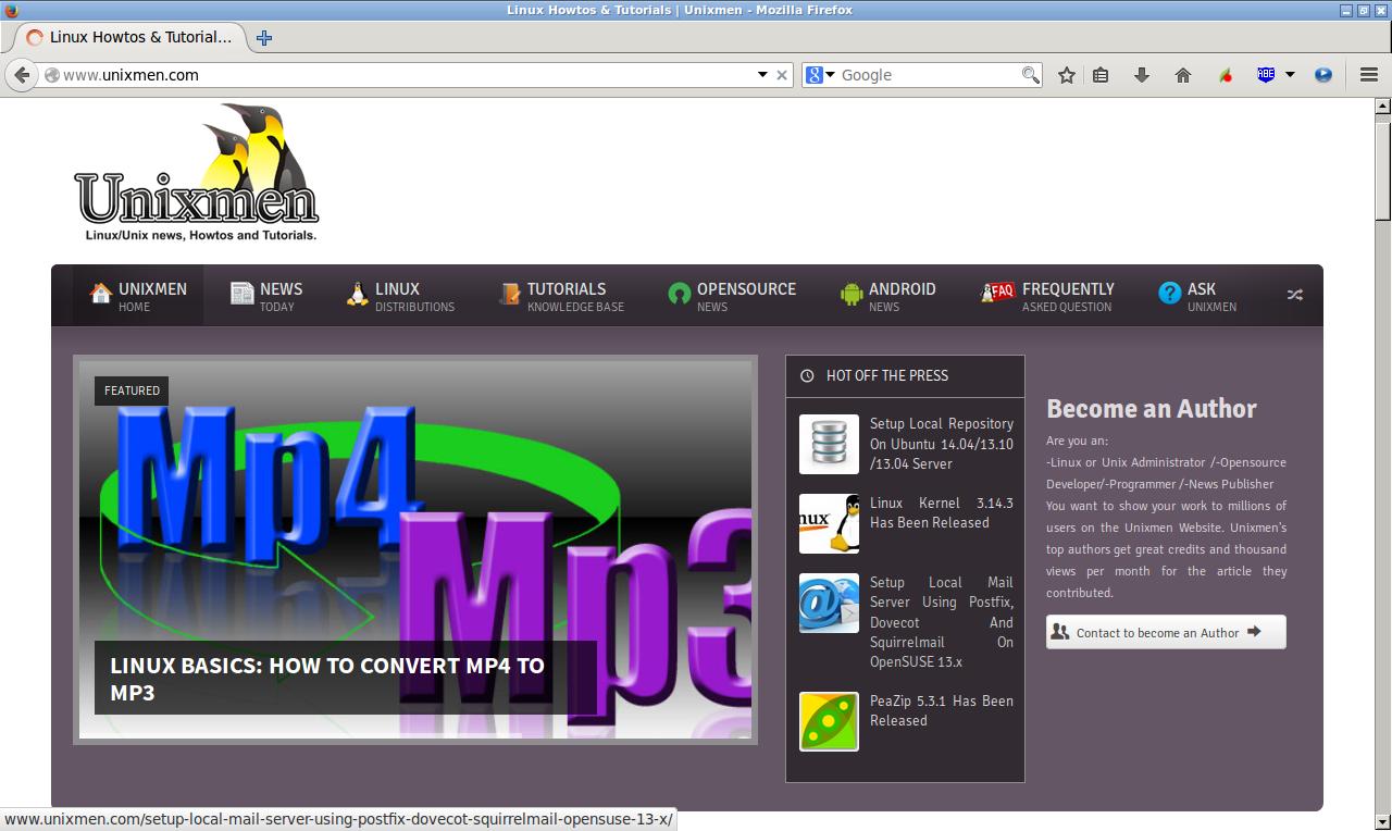 Linux Howtos & Tutorials | Unixmen - Mozilla Firefox_004