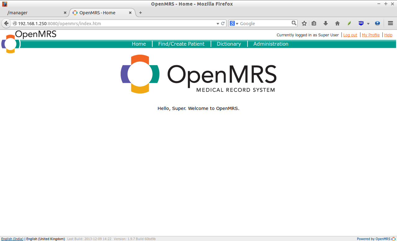 OpenMRS - Home - Mozilla Firefox_014