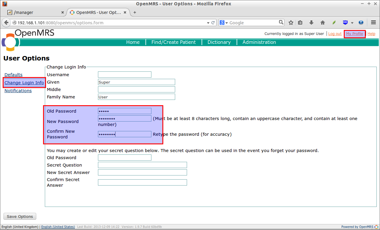 OpenMRS - User Options - Mozilla Firefox_003