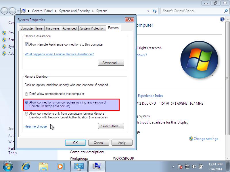 Windows 7, 1 nic, bridge, internet [Running] - Oracle VM VirtualBox_009