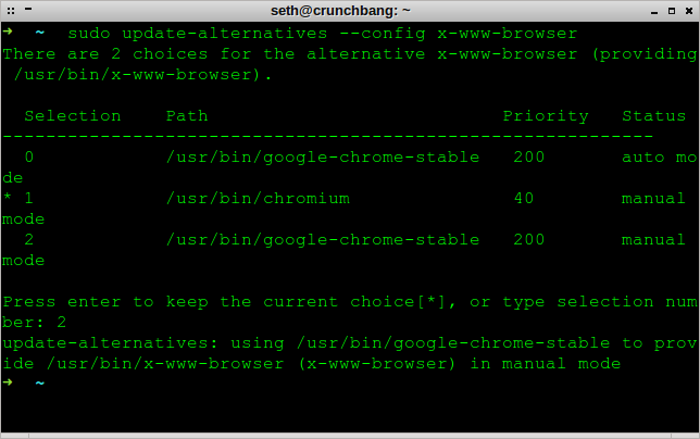 change_default_browser_from_terminal_debian_enock