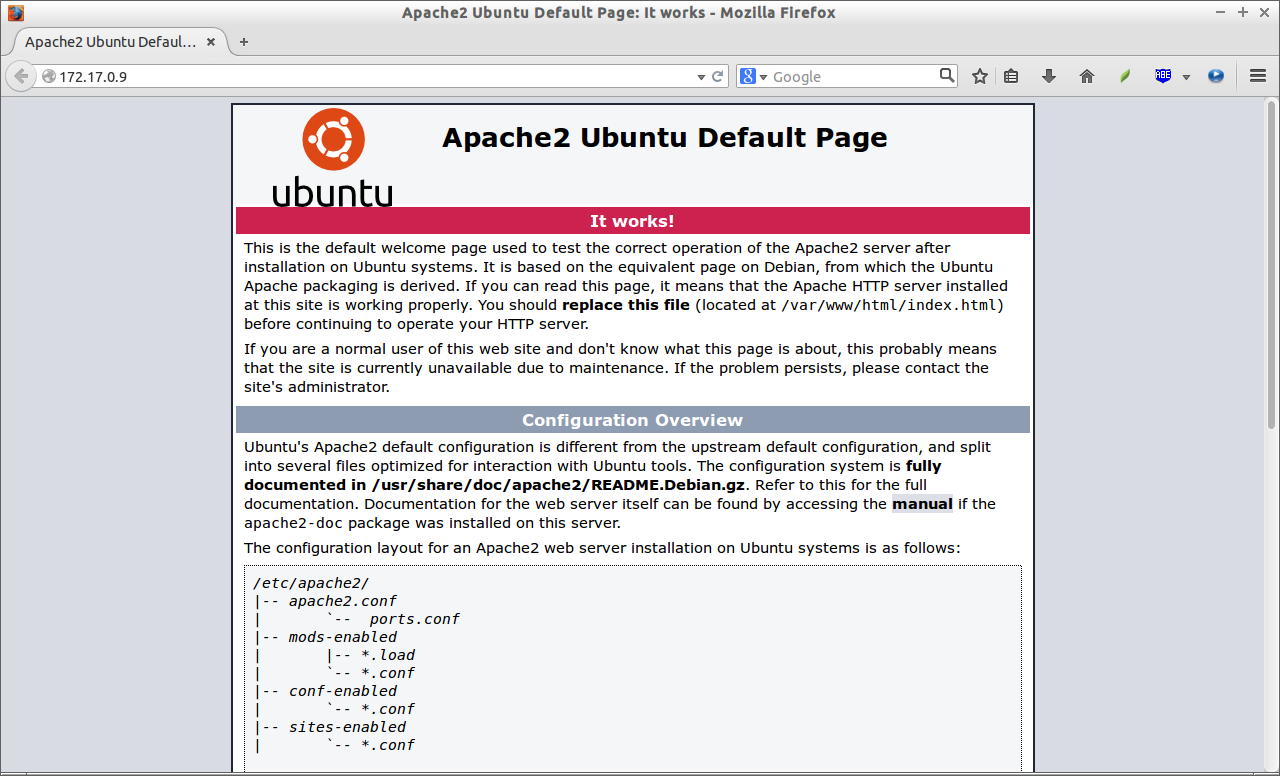 Apache2 Ubuntu Default Page: It works - Mozilla Firefox_001