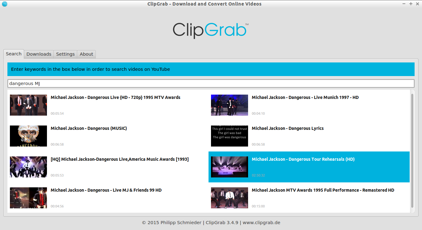 ClipGrab - Download and Convert Online Videos_004