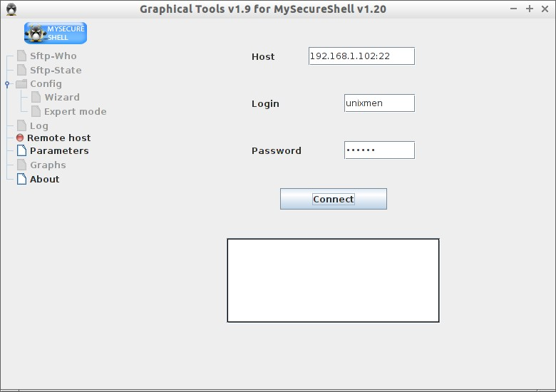 Graphical Tools v1.9 for MySecureShell v1.20_002
