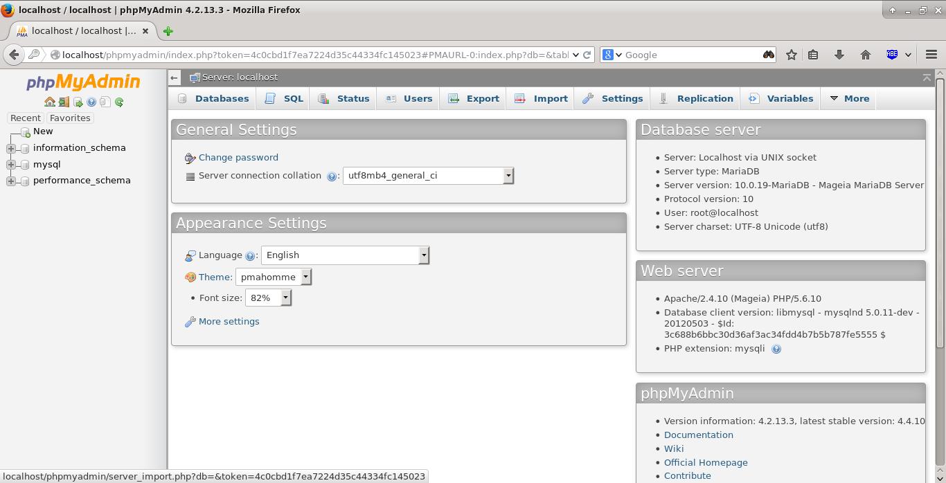 localhost - localhost | phpMyAdmin 4.2.13.3 - Mozilla Firefox_008