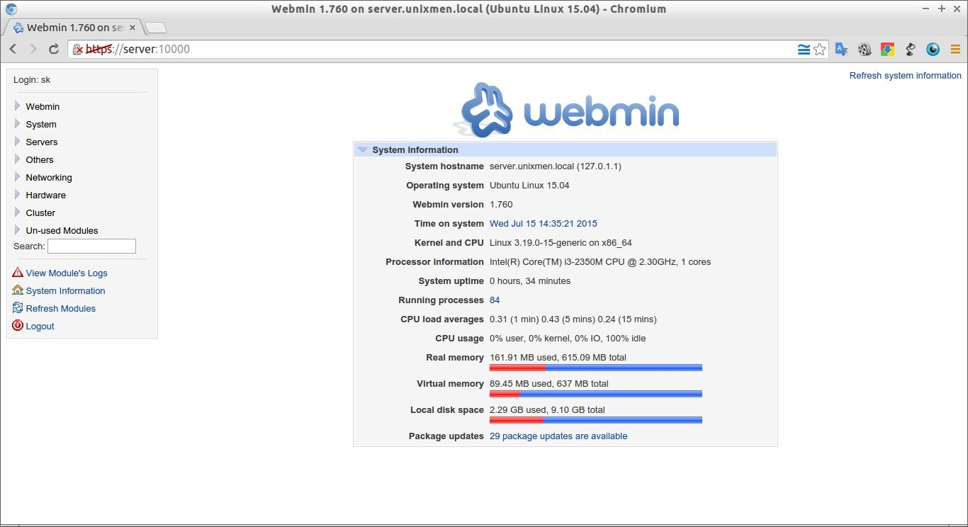 Webmin 1.760 on server.unixmen.local (Ubuntu Linux 15.04) - Chromium_012