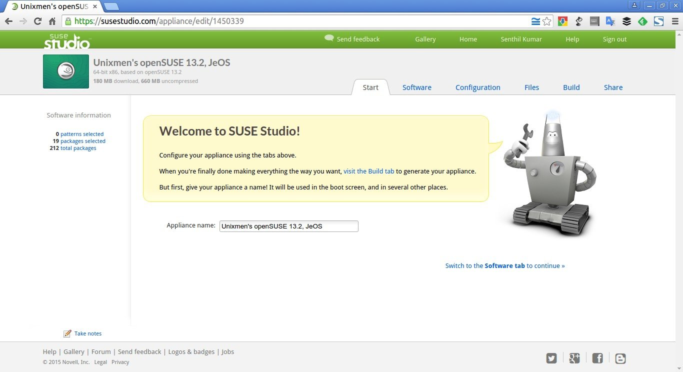 Unixmen's openSUSE 13.2, JeOS – SUSE Studio - Google Chrome_003