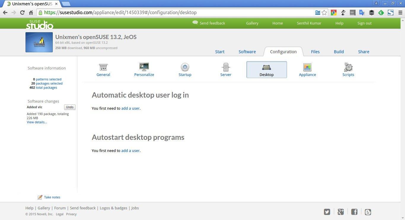 Unixmen's openSUSE 13.2, JeOS – SUSE Studio - Google Chrome_011