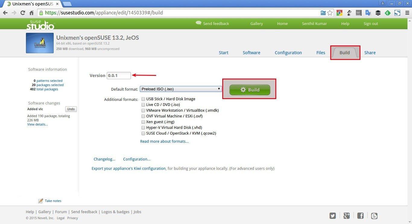 Unixmen's openSUSE 13.2, JeOS – SUSE Studio - Google Chrome_014