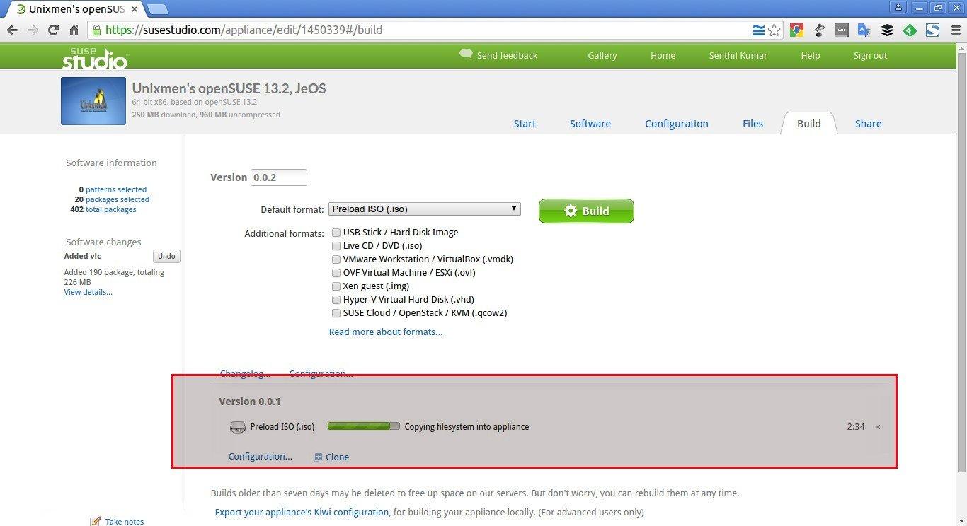 Unixmen's openSUSE 13.2, JeOS – SUSE Studio - Google Chrome_015