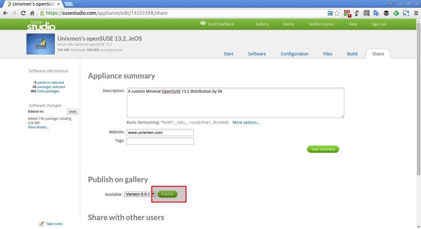 Unixmen's openSUSE 13.2, JeOS – SUSE Studio - Google Chrome_017