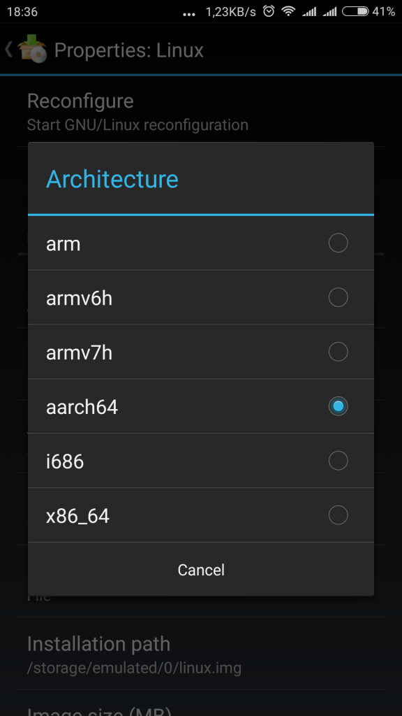 Arch Linux on your Android phone
