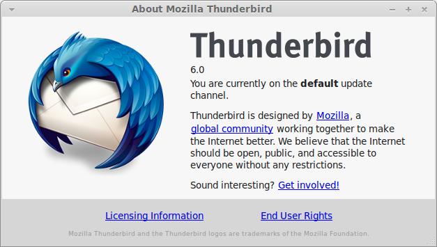 Thunderbird6.0