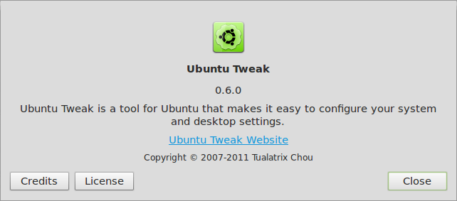 About Ubuntu Tweak 004